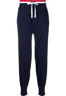 Polo Ralph Lauren Calça Jogger Com Ajuste No Cós - Azul