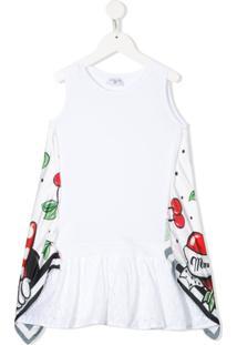 Monnalisa Vestido Reto - Branco