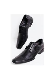 Sapato Masculino Em Couro | Viko | Preto | 38