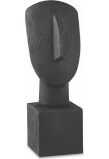 Escultura Face Em Poliresina - Tricae