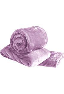 Cobertor Super Soft De Casal - Rosa - 180X220Cmsultan