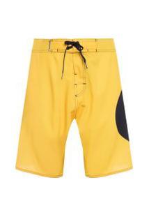 Bermuda Masculina Surf Esfera - Amarelo