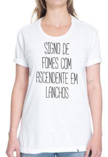 Signo De Fomes - Camiseta Basicona Unissex