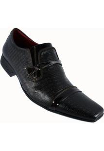 Sapato Social Calvest Couro Capuccino Masculino - Masculino