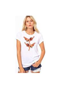 Camiseta Coolest Dois Anjinhos Branco