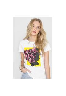 Camiseta Planet Girls Logo Branca