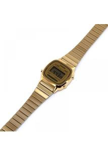 Relógio Vintage Collection Dourado Digital - Casio