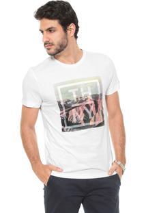 81c30d7886 Dafiti Sports. Camiseta Tommy Hilfiger Estampada Branca