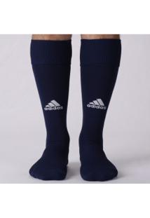 Meião Adidas Básico - Masculino - Azul Escuro