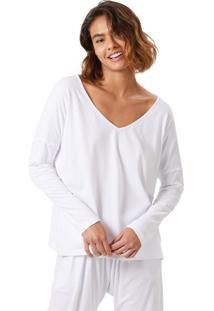 T-Shirt Corpo E Arte Mariana Branca