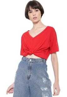 Camiseta Triton Lisa Vermelha