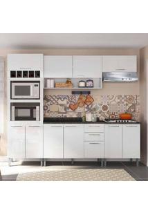 Cozinha Compacta Isadora 10 Pt 3 Gv Branca