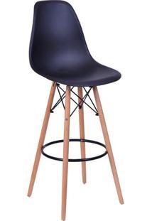 Banqueta Eames Dkr- Preta- 106X56X56Cm- Or Desigor Design