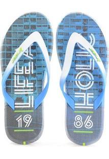 9cf86375f1 Chinelo Rider Energy Azul Branco - 10719