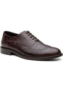 Sapato Social Oxford Brogue Australia Masculino - Masculino