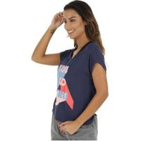Camiseta Oxer Podemos - Feminina - Azul Escuro 9bb35735ec90b