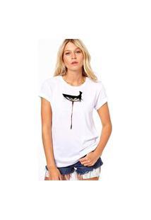 Camiseta Coolest Eye Bird Branco