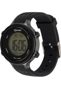 Relógio Digital X Games Xkppd076 - Unissex - Preto