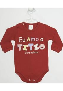 Body Bebê Manga Longa Titio - Feminino