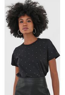 Camiseta Triton Aplicações Preta - Kanui