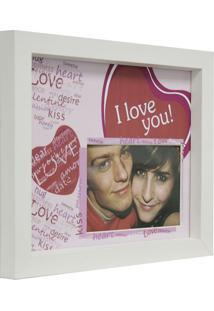 Porta- Retrato In Love 1 Foto 10X15 Rosa Kapos