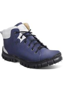 Bota Polo State Full Time - Masculino-Azul