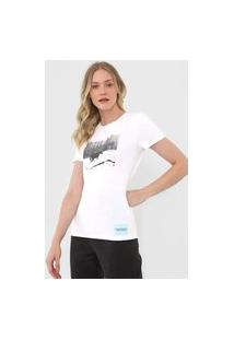 Camiseta Calvin Klein Jeans Andy Warhol Branca
