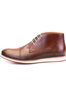 Bota The Box Project Cedro Masculina - Masculino-Café
