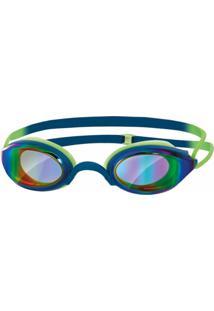 e5dd7b621 Óculos De Natação Zoggs Fusion Air Lente Espelhada Gold