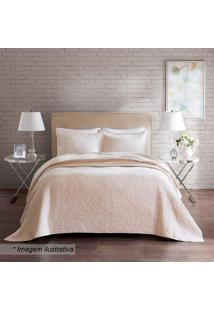 Conjunto De Colcha Florence Home Design King Size- Off Wcorttex