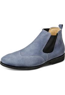 Bota Sandro Moscoloni Classic Chelsea Jeans