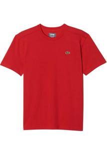 3be2eb0771dc5 Camiseta Lacoste - Masculino-Vermelho