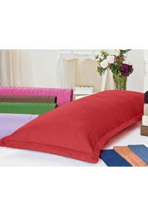 Porta Travesseiro Mini Xuxão Vermelho Juma Enxovais