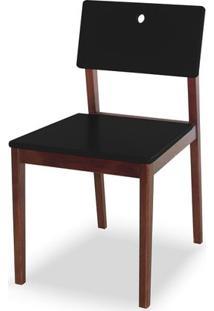 Cadeira Flip Cor Cacau Com Preto - 30819 - Sun House