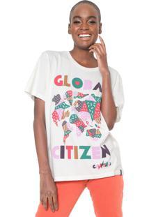 Camiseta Cantão Global Citizen Off-White