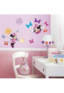 Adesivo De Parede Mickey Friends   Minnie Bow Tique Peel Stick Wall Decals  Roommates Part 94