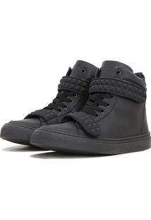 Tãªnis Sneaker K3 Fitness Skull Preto - Preto - Feminino - Dafiti