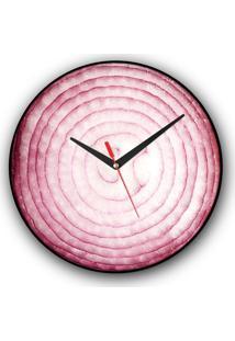 Relógio De Parede Colours Creative Photo Decor Decorativo, Criativo E Diferente - Cebola