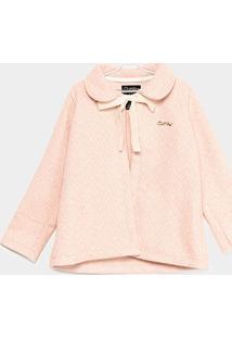 Casaco Infantil Quimby Tweed Feminino - Feminino