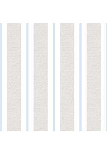 Papel De Parede Lymdecor Clássico Azul