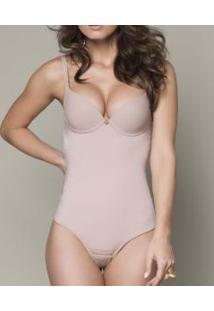 Body Modelador Fio Dental Kenya Lucitex Shapewear (2724) Cetinete