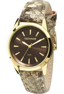 6296a1901c7ec Relógio Technos Trend Feminino Analógico - 2035Mcs 2M 2035Mcs 2M - Feminino -Dourado