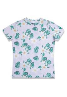 Camiseta New Era Regular New Era Brasil Rosa