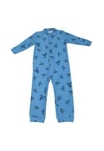 Pijama Macacão Moletom Abrange