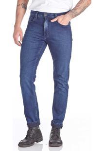 Calça Jeans Convicto Slim Azul Escuro