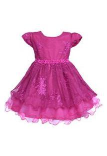 Vestido Infantil Marie Masha Pink