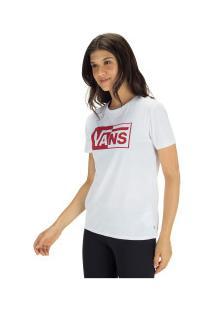 Camiseta Vans Vnb15Gtb - Feminina - Branco