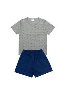 Pijama Masculino Infantil Geométrico