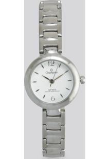 Relógio Analógico Champion Feminino - Ca28136Q Prateado - Único