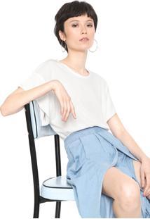 Camiseta Colcci Básica Branca